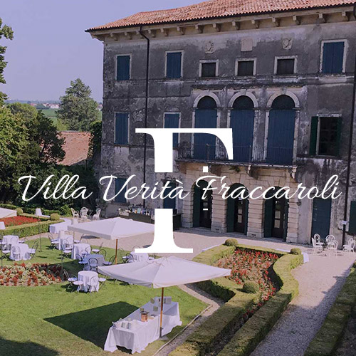 location villa verità fraccaroli