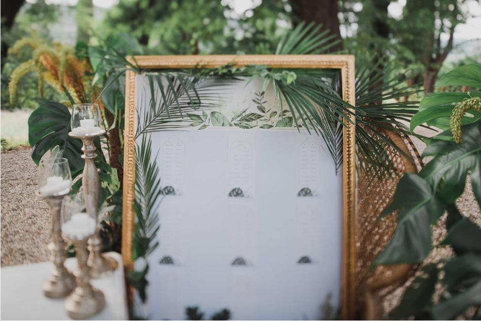 matrimonio stile tropical
